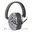 Sweet Shot Zebra Print Shooting Ear Muffs 26db
