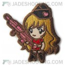Gun Girl Subdued - Morale Patch