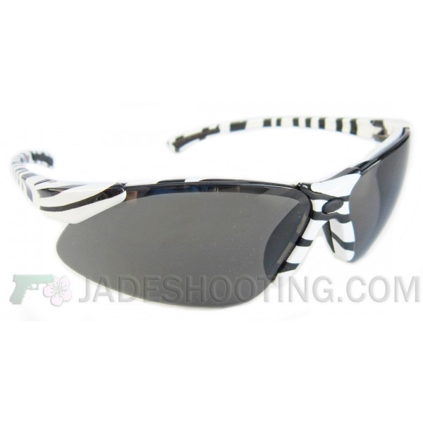 Sweet Shot Zebra Print Shooting Sunglasses - JadeShooting.com