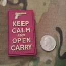 Keep Calm and Open Carry - Morale Patch