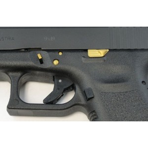RYG Gold Accents Pin Kit with Extended Slide Release for Glocks