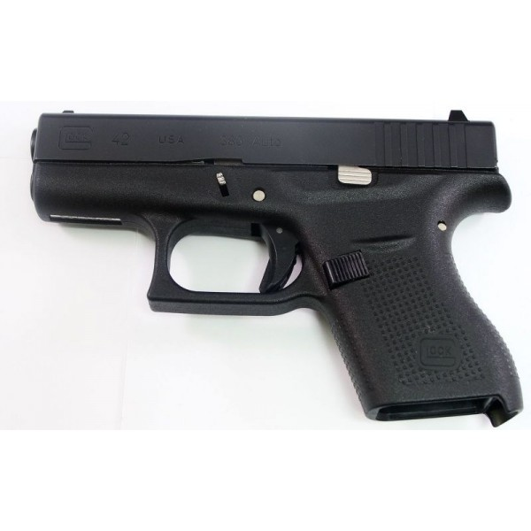 Satin Chrome Accents Pin Kit with Slide Release for Glock 42 43 Silver